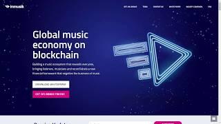 Inmusik. Обзор ICO . Музыкальная платформа на BlockChain