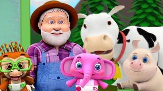 фермер в лощине | рифма для детей | песня для малышей | стихотворение для детей | Farmer In The Dell