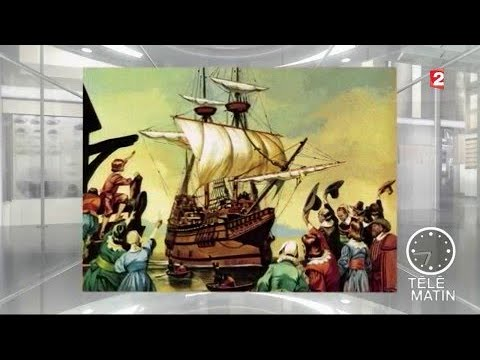 Mémoires - Le Mayflower débarque en Amérique