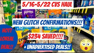 🔥CVS HAUL 5/16-5/22 {NEW CVS GLITCH CONFIRMATIONS} Haul=$4 TOTAL🤑$234 SAVED& CVS Couponing This Week