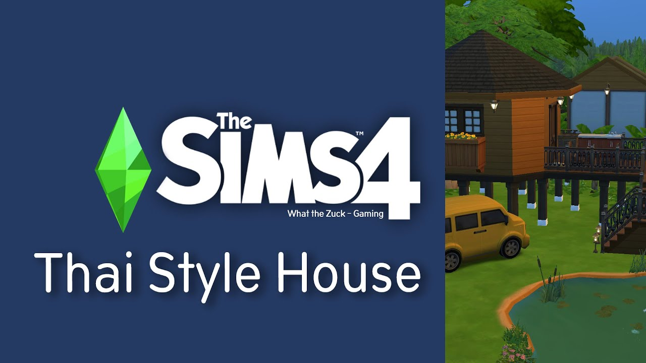 The Sims4 Lots | Thai Style House : Speed Build (No Mods / No CC)