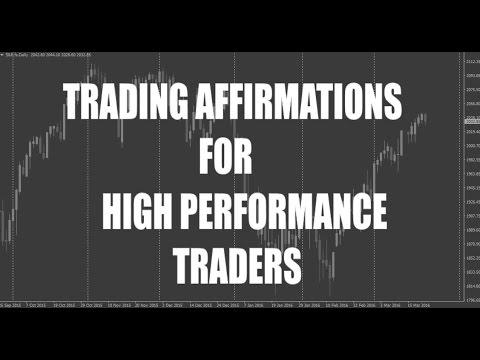 TRADING AFFIRMATIONS For Successful Trading