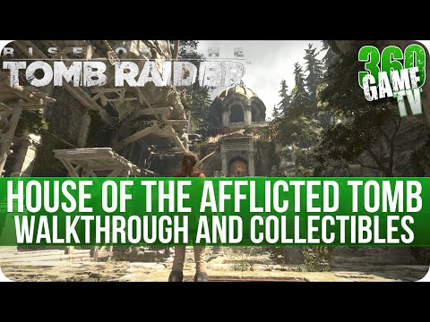 Rise of the Tomb Raider - House of the Afflicted Tomb Walkthrough incl. all Collectibles