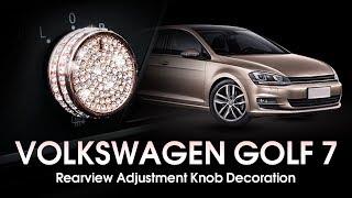 Volkswagen Golf - Rear View Mirror Adjustment Knob Trim - senzeal-auto.com