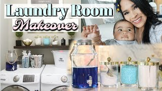 Laundry Room Organization - A Day In My Life! MissLizHeart