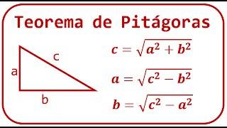 Teorema de Pitágoras - Explicación y ejemplos - [RiveraMath]
