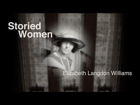 Storied Women of MIT: Elizabeth Langdon Williams