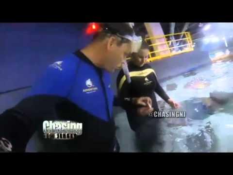 Swimming With Sharks At Camden's Adventure Aquarium