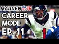 Madden 16 Career Mode Ep.11 - Milestones Attained! - Week 15 @ Colts