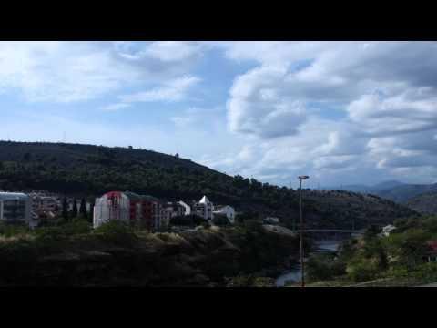 Podgorica time lapse video