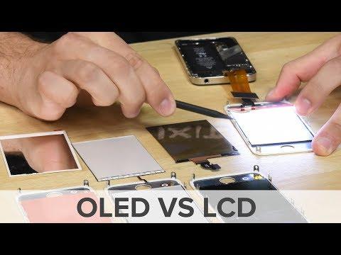 OLED vs LCD: Smartphone Display Teardown and Comparison