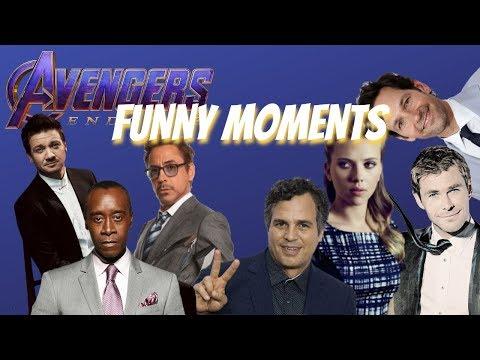 Avengers: Endgame Cast Funny Moments 2019 [pt. 1]