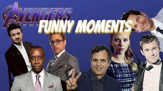 Avengers: Endgame Cast Funny Moments 2019 [pt. 1]