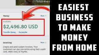 EASY Business To Make Money From Home! (Make $500 PER Day!)