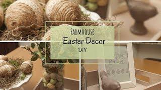 Farmhouse Easter Decor DIY