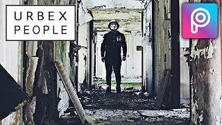 Cara Edit Urbex People di Picsart Android dan iOS | Tutorial