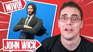 The JOHN WICK 3 event at FORTNITE-(Skin, special mode, Easter Egg House of John Wick)
