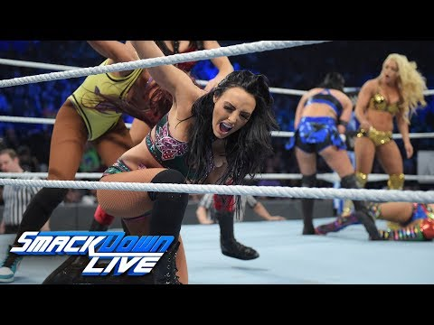Women's Battle Royal - Winner joins SmackDown Women's Title TLC Match: SmackDown LIVE, Nov. 27, 2018