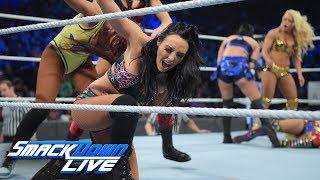 Women's Battle Royal - Winner joins SmackDown Women's Title TLC Match: SmackDown LIVE, Nov. 27, 2018