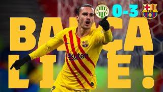 🔥 5/5 in the #UCL! ⚽ BARÇA LIVE | Ferencvárosi 0-3 FC Barcelona | Match Center