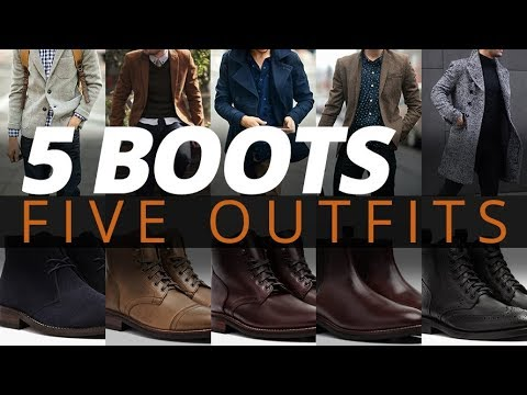 5 Fall Outfits For Men | Best Boots For Mens Autumn Style