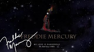 freddie mercury my love is dangerous official lyric video