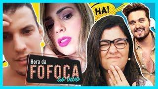 """🔥Baixaria! Nadja e mulher de Sertanejo se xingam + Luan Santana chama atitude de Neymar de """"pequena"""""""