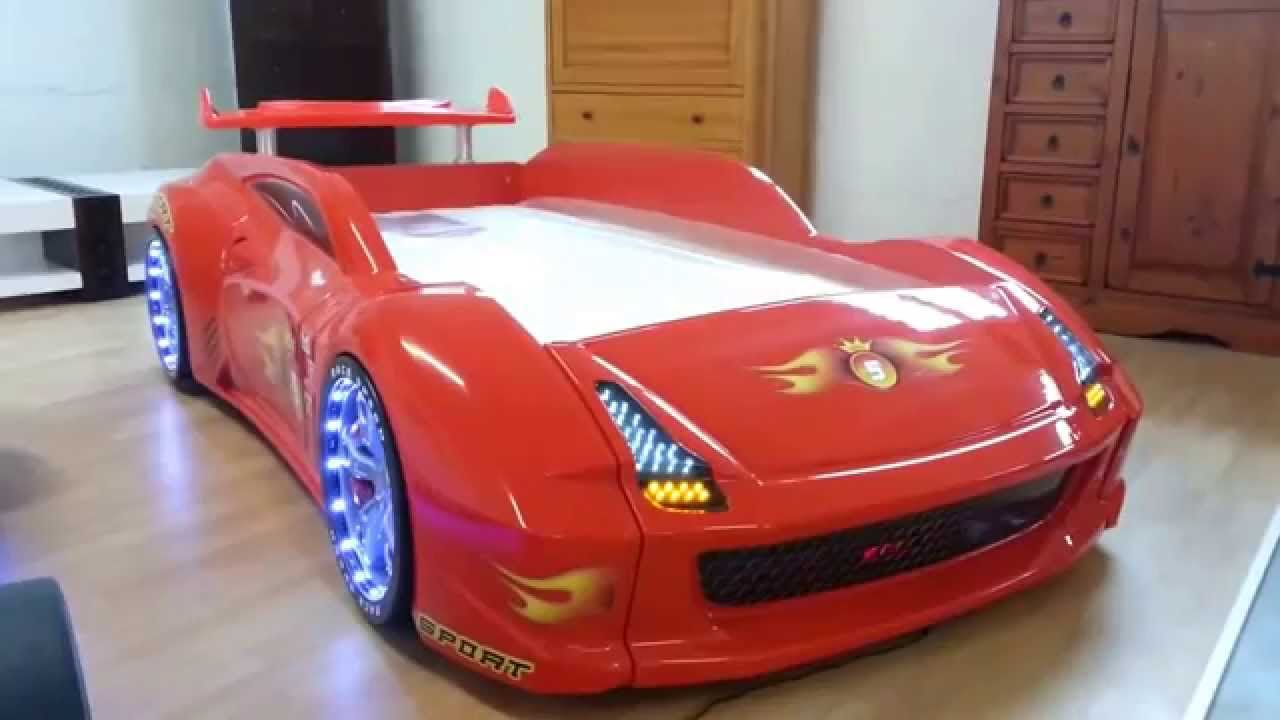 Car Bedding: Cool Lamborghini Red Race Car Bed US Distributor