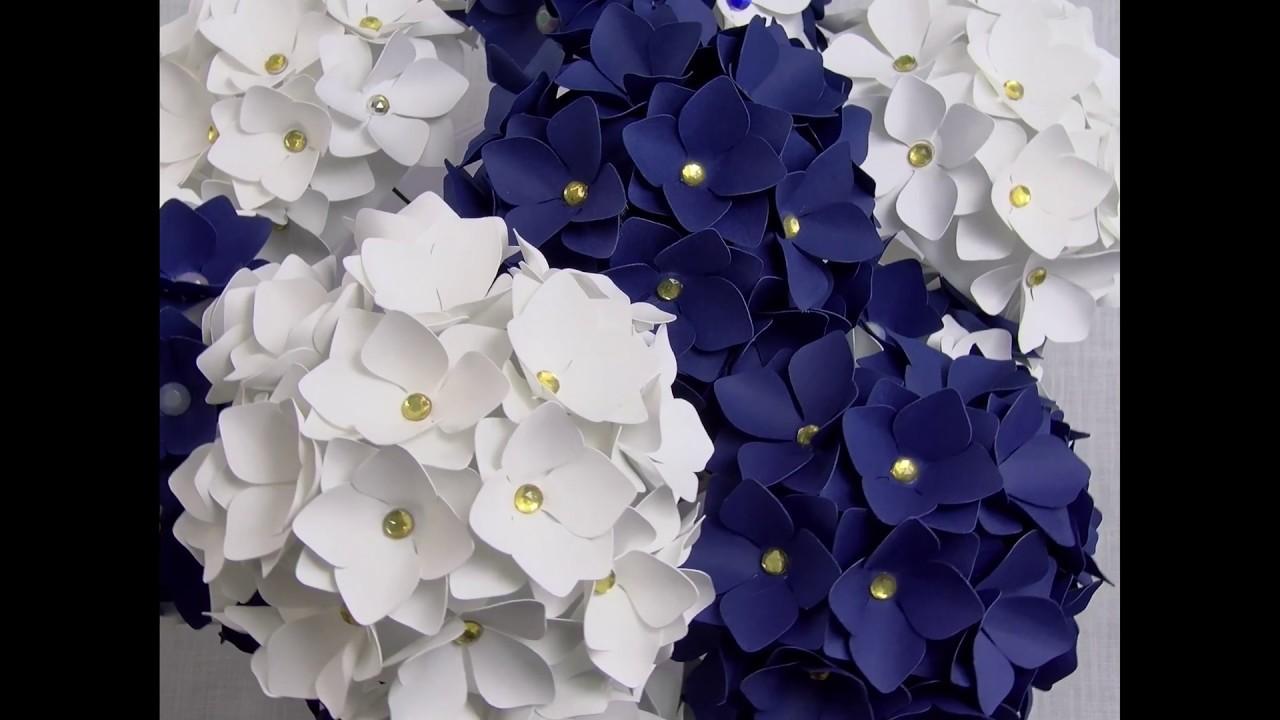 Filler Flower 1 Hydrangea Tutorial In 4k Youtube