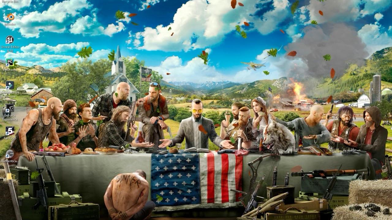 My Far Cry 5 wallpaper - YouTube