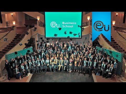 EU Munich Graduation 2016 - European Experience. BBA & MBA International Students Celebrate
