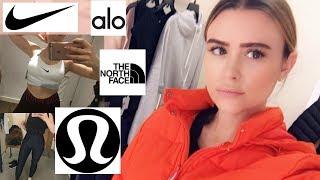 ALO Yoga, Lululemon, Nike   2019 Active Wear Haul + Try On