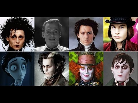 todos los días Pickering cerca  Johnny Depp & Tim Burton Cooperation Mashup - YouTube