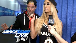 Carmella has James Ellsworth show off some new tricks: SmackDown LIVE Fallout, Sept. 19, 2017 thumbnail