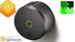 Умный дверной замок August Smart Lock умный дом Apple Home Kit полный обзор