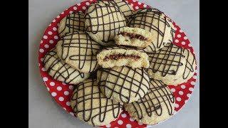 Cookies filovani keksi Ljesnjak i cokoladna krema
