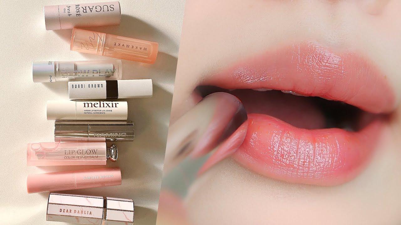 (eng/jpn)➰민낯에 가볍게 바르기 좋은 컬러 립밤 추천ㅣMy Favorite Color Lip Balm BEST 9ㅣ소현 SOHYEON