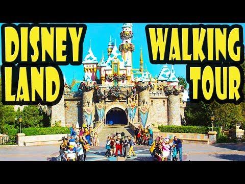 Disneyland Guided Full Park Walking Tour