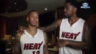 October 29, 2014 - Sunsports - Inside the Heat: Miami Heat Preseason Special (Documentary)(1of2)