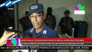 Fuerza Naval de Nicaragua incauta más de un millón de dólares al narcotráfico internacional