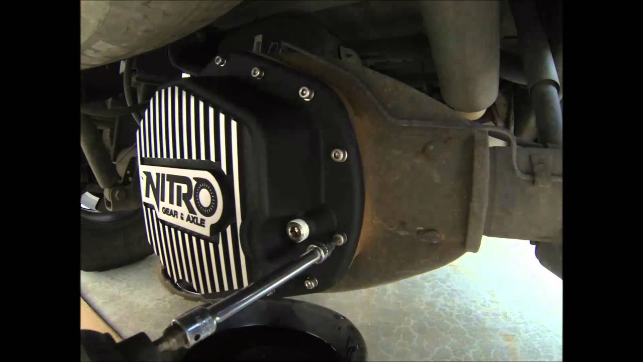 Nitro Gear Amp Axle Hd Differential Covers Dodge Chevy