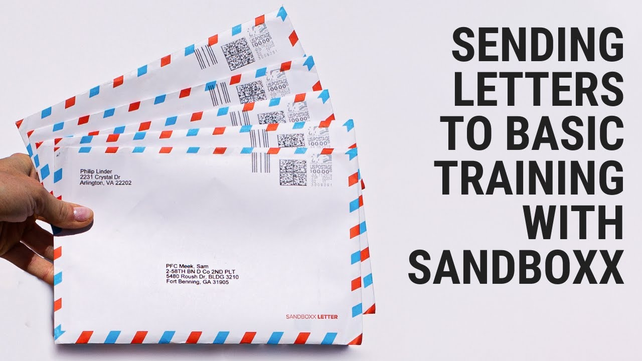 Letters - Sandboxx