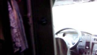 Kenworth T2000 interior