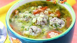 суп с фрикадельками очень вкусно .#Простые Рецепты#Фрикадельки#Как Приготовить #Простые Рецепты