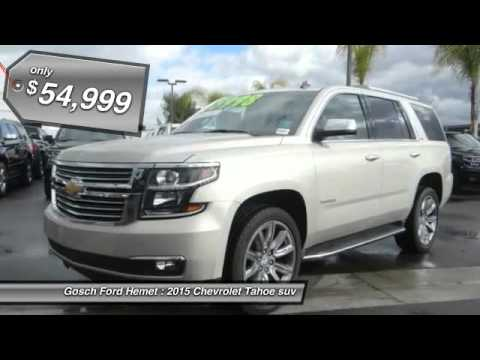 2015 chevrolet tahoe hemet san jacinto lakeview perris. Black Bedroom Furniture Sets. Home Design Ideas