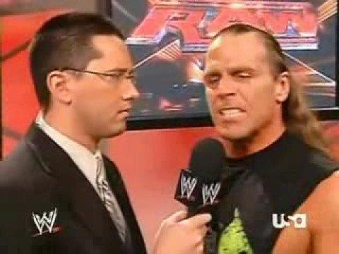 WWE- Todd Grisham superkicked by shawn micheals