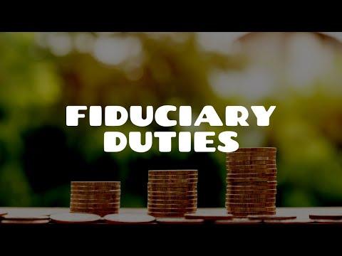 Fiduciary Duties | Equity & Trusts
