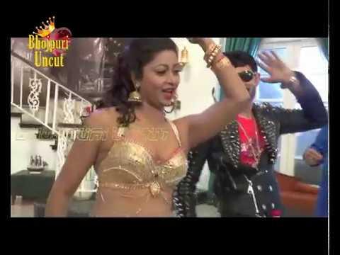Hot Iteam Song Shoot Of Glory & Raj Chauhan For Bhojpuri Film 'Raj Shanshah' Part 4