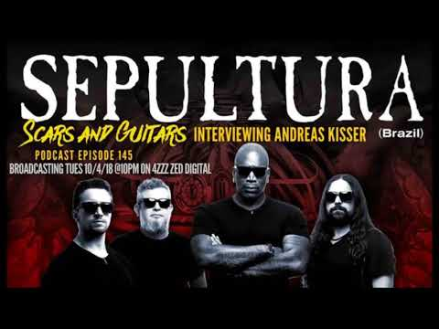 Interview with Andreas Kisser (Sepultura) , Scars and Guitars 2018