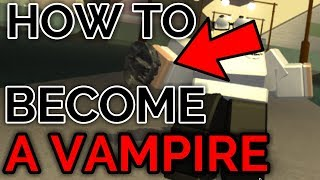 HOW TO BECOME A VAMPIRE! | JoJo's Bizarre Generations | ROBLOX